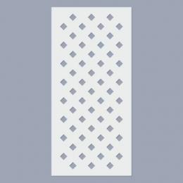 Rombusz stencil (6mm)