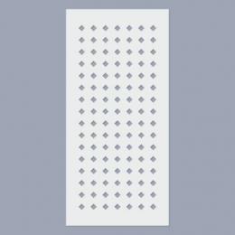Rombusz stencil (4mm)
