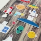 Űrutazás | papír díszítőelem készlet