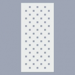 Négyzet minta stencil (5mm)