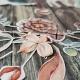 Ünnepel az erdő | papír díszítőelem készlet