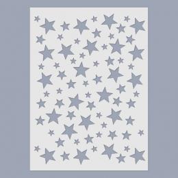 Csillagok stencil