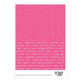 Szócímkék | kivágóív – pink