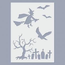 Halloween I. stencil