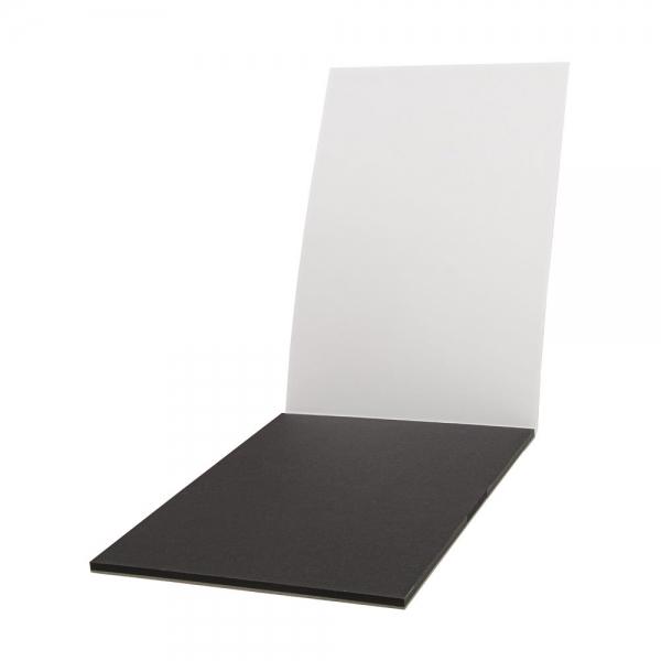 A4 fekete akvarellpapír tömb 20 lap 200g