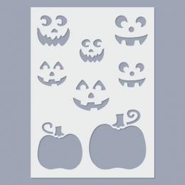 Halloween II. stencil