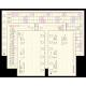 Barna M Exclusive 210 Saturnus gyűrűs kalendárium