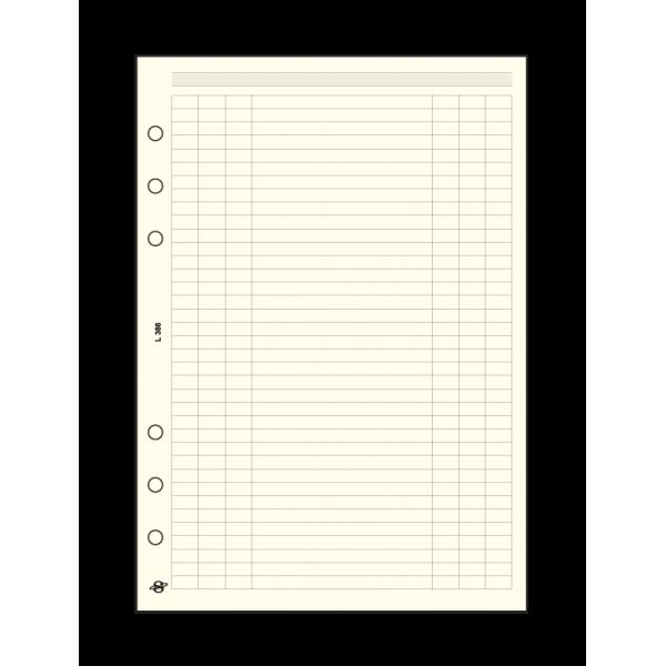 Üres táblázat L (A5) pótlapcsomag Saturnus Prof Tanári