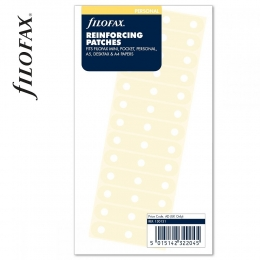 Filofax Öntapadó lyukvédő, erősítő címke, átlátszó