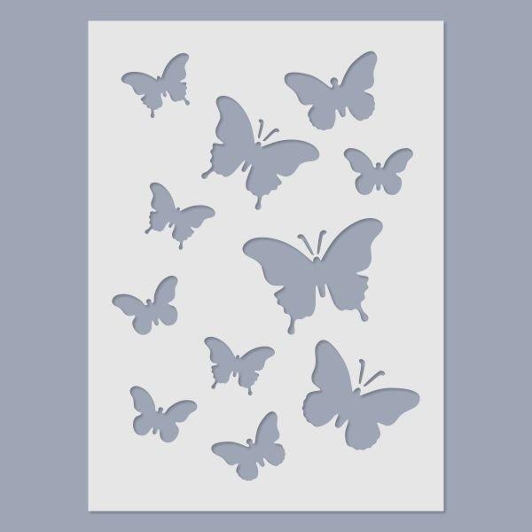 Pillangók stencil