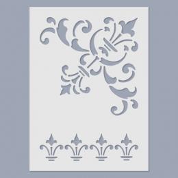 Bordűr I. stencil