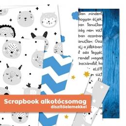 Már az óvodában megtanultam mindent | scrapbook alkotócsomag