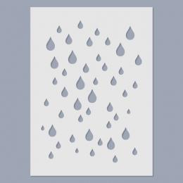 Eső stencil