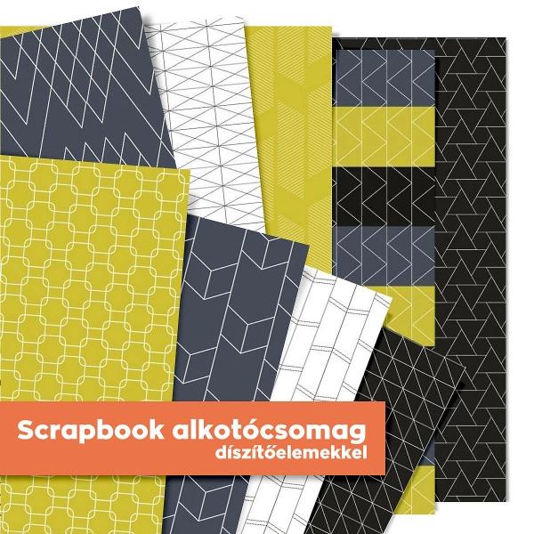 Helló új otthon   scrapbook alkotócsomag
