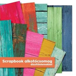 Ajtók | scrapbook alkotócsomag