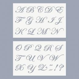 Anno ABC stencil (nagybetűk)