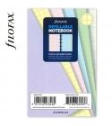 Pocket négyzethálós pasztell jegyzetlap | Filofax Notebook