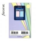 Pocket ponthálós jegyzetlap pasztell színű | Filofax Notebook