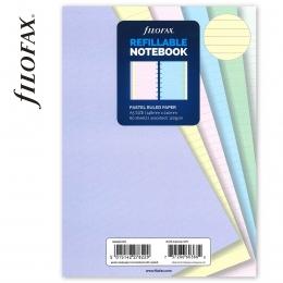 A5 vonalas pasztell jegyzetlap | Filofax Notebook
