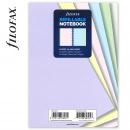 A5 üres pasztell jegyzetlap | Filofax Notebook