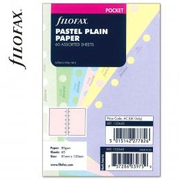 Pocket üres jegyzetlap pasztell színű | Filofax