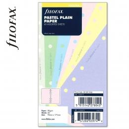 Personal üres jegyzetlap pasztell színű | Filofax