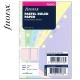 Pocket vonalas jegyzetlap pasztell színű | Filofax