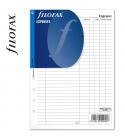 A5 Költségtervező fehér   Filofax