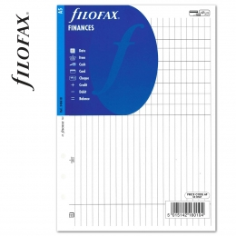 A5 Pénzügyi tervező fehér | Filofax
