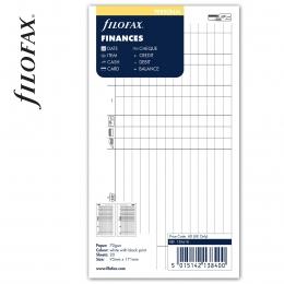 Personal Pénzügyi tervező fehér | Filofax