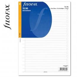 A4 Tennivalók lista fehér | Filofax