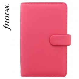 Rózsaszín Personal Compact Filofax Saffiano határidőnapló