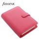 Rózsaszín Personal Filofax Saffiano határidőnapló