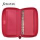 Rózsaszín Personal Compact Zip Filofax Saffiano határidőnapló