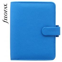 Kék Pocket Filofax Saffiano Fluoro határidőnapló