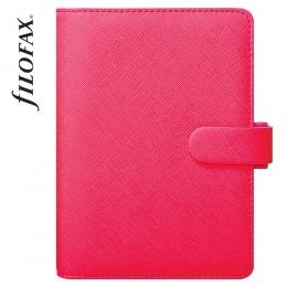 Pink Pocket Filofax Saffiano Fluoro határidőnapló