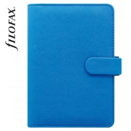 Kék Personal Filofax Saffiano Fluoro határidőnapló