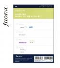 A5 heti naptárbetét dátum nélkül | Filofax Clipbook
