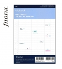 A5 éves naptárbetét dátum nélkül | Filofax Clipbook