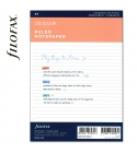 A5 vonalas jegyzetlap fehér | Filofax Clipbook