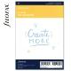 A5 üres jegyzetlap fehér | Filofax Clipbook