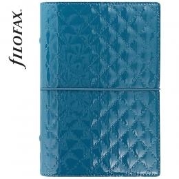 Türkiz Personal Filofax Domino Luxe határidőnapló