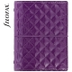 Lila Pocket Filofax Domino Luxe határidőnapló