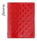 Piros Pocket Filofax Domino Luxe határidőnapló