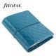 Türkiz Pocket Filofax Domino Luxe határidőnapló