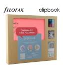 Rose A5 Clipbook Kreatív készlet | Filofax gyűrűs füzet