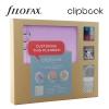 Orgonalila A5 Clipbook Kreatív készlet | Filofax gyűrűs füzet