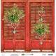 """Merry & Bright scrapbookpapír készlet 6"""" 15,2x15,2 cm"""