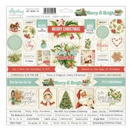 Merry & Bright karton matrica 30,5x30,5 cm