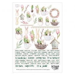 Tavaszi zsongás   A5 matrica